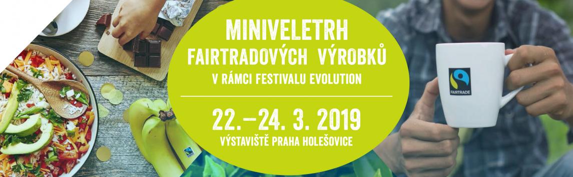 Již popáté pořádáme miniveletrh fairtradových výrobků na Festivalu Evolution